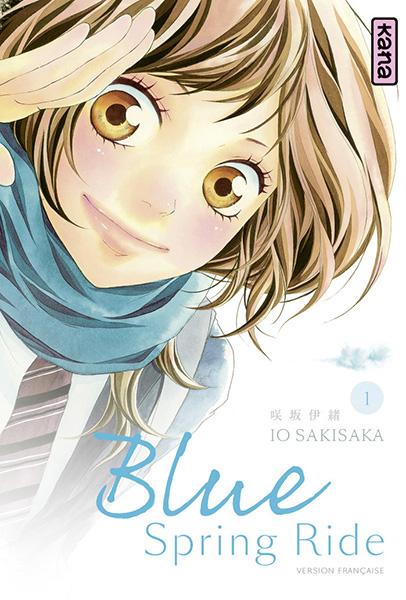 Couverture Blue Spring Ride T1