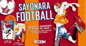 Sayonara Football déboule chez Ki-oon