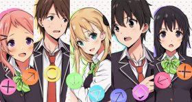Le roman Gamers! adapté en anime