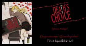 Death's Choice, le nouveau death game de Kana