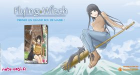 La magie de Flying Witch arrive chez nobi nobi!