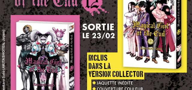 Edition collector pour Magical Girl of the End T12
