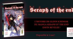 Les romans de Seraph of the End chez Kana