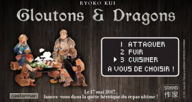 Gloutons & Dragons s'invitent à la table de Casterman