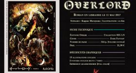 Le light novel Overlord s'installe chez Ofelbe