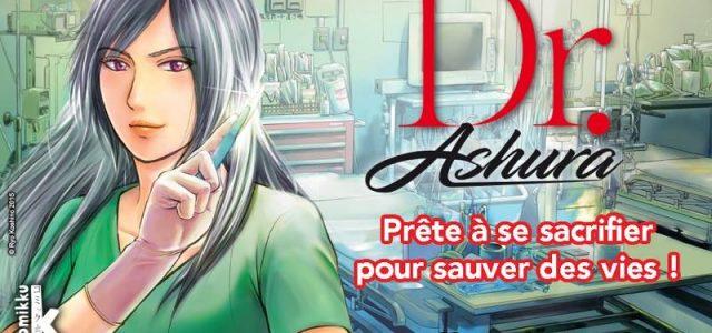 Dr. Ashura, archange de la guérison chez Komikku
