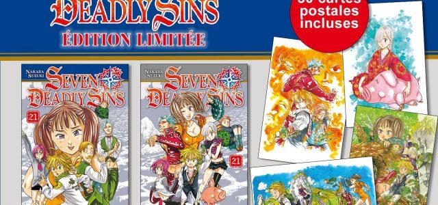 Édition collector pour le tome 21 de Seven Deadly Sins