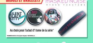 JE 18e impact : les goodies des éditions Glénat