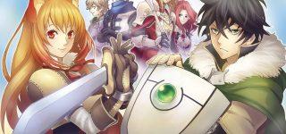 Le roman The Rising of the Shield Hero adapté en anime