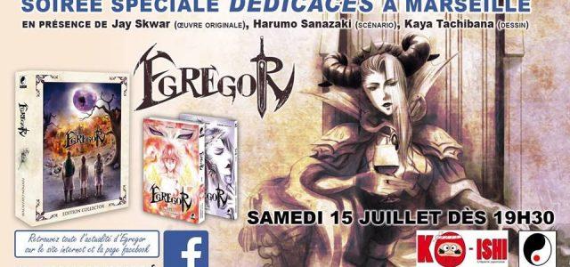 Les auteurs d'Egregor à Marseille