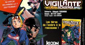 Vigilante – My Hero Academia Illegals débarque chez Ki-oon