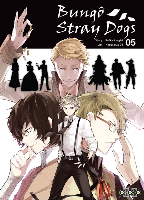 Couverture Bungo Stray Dogs 5