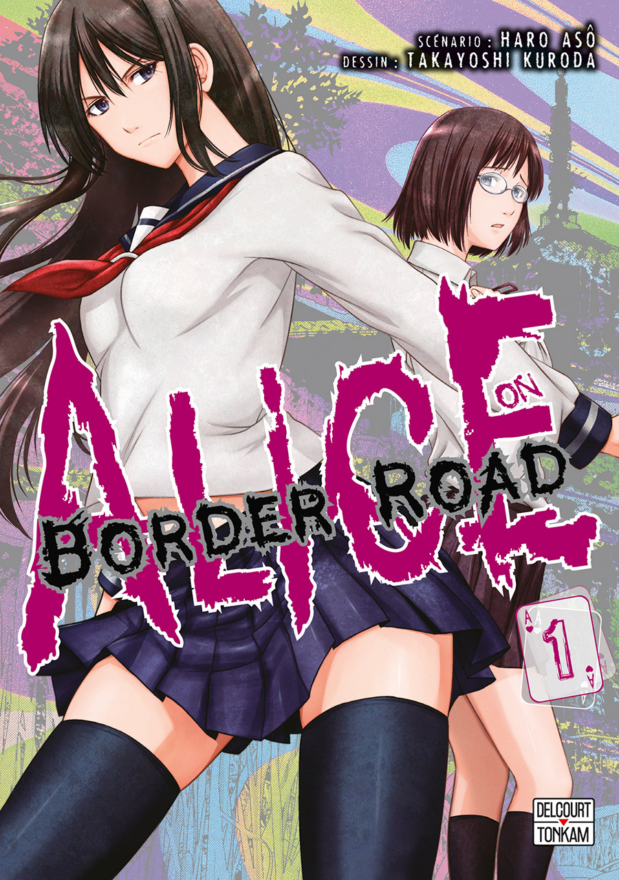Couverture Alice on border road 1