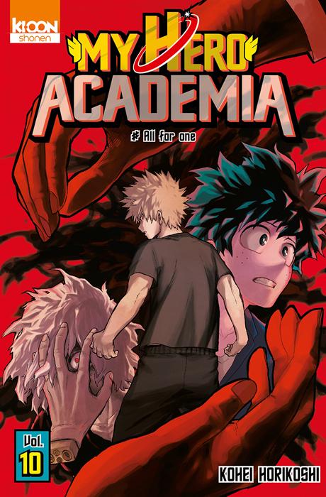 Couverture My Hero Academia T10