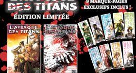 Edition limitée pour L'Attaque des Titans T23