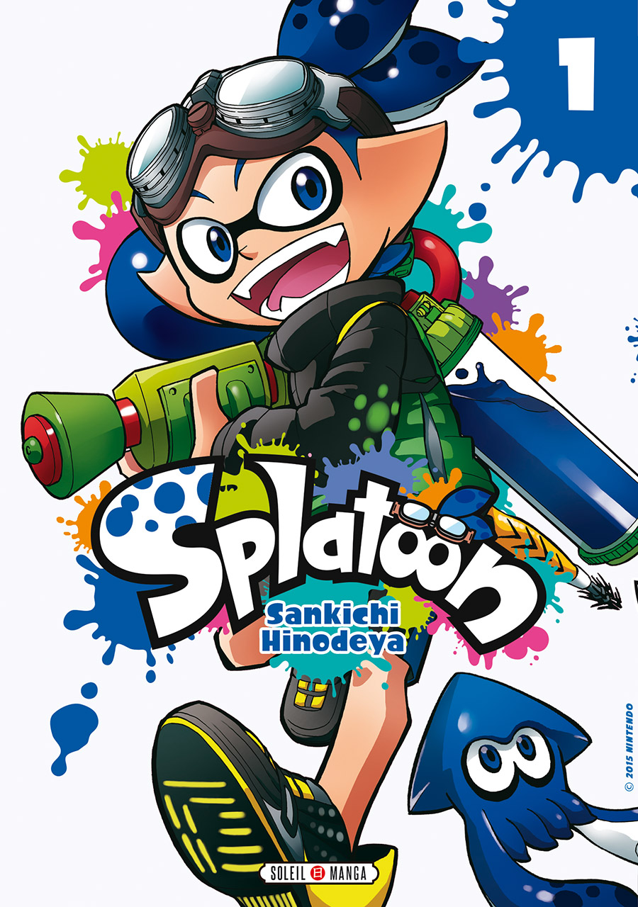 couverture splatoon 1