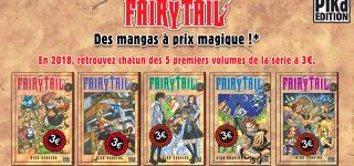 Des petits prix pour Fairy Tail T1 à 5