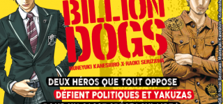 Billion Dogs arrive chez Akata
