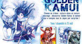 Golden Kamui vient nous conquérir chez Ki-oon