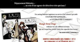 Les détectives de Bungô Stray Dogs déboulent chez Ototo