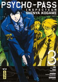 Psycho-pass Inspecteur Shinya Kogami T3
