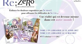 Re:Zero Re:Life in a different world from zero chez Ototo