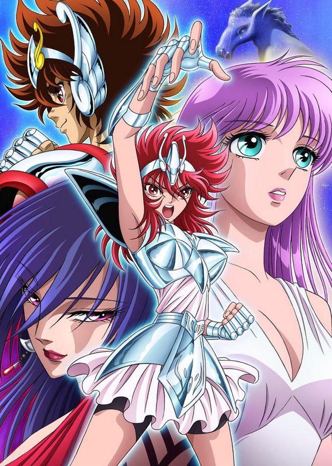 Saint Seiya Saintia Sho - Anime