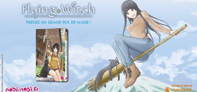 La magie de Flying Witch arrive chez nobi nobi!