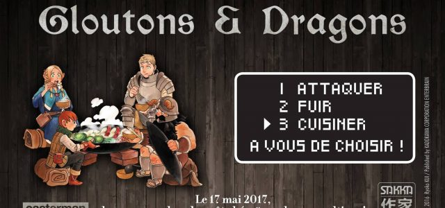 Gloutons & Dragons s'invitent à la table de Casterman
