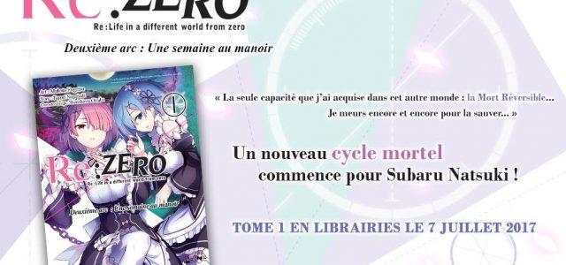 Second cycle de Re:Zero chez Ototo Manga