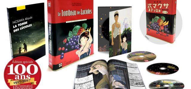 Le Tombeau des Lucioles revient en collector Candy Box chez Kazé