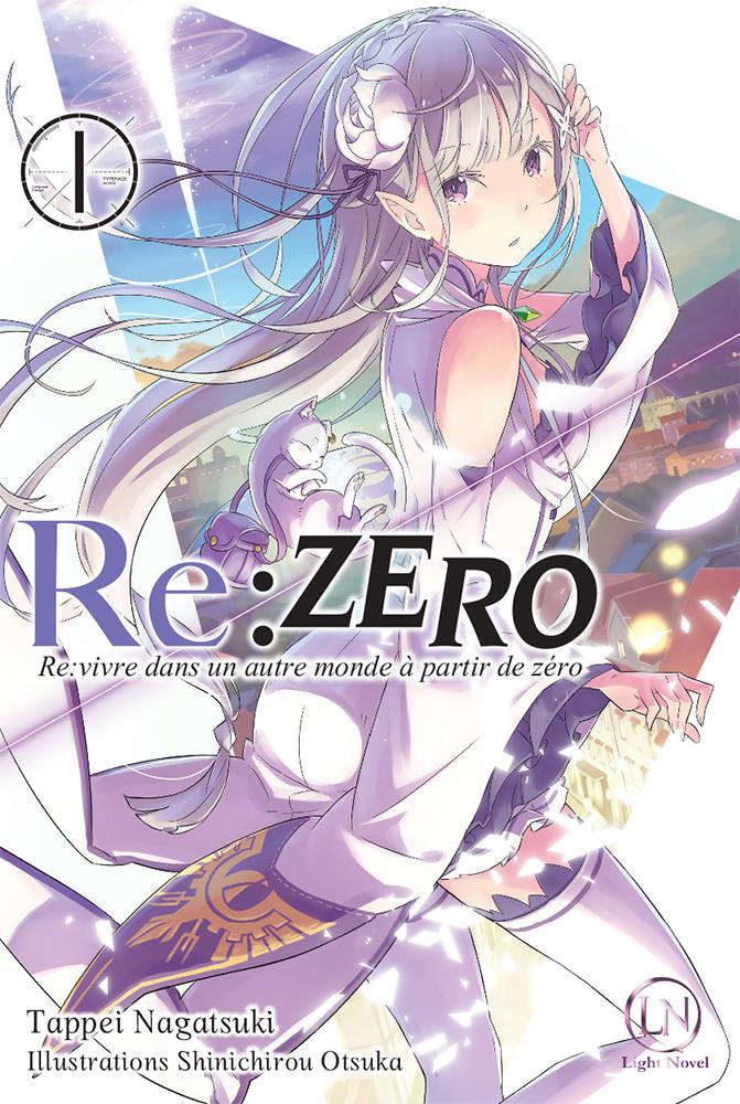 Re:Zero Light Novel T1