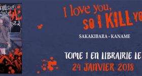 I love you so I kill you annoncé chez Soleil Manga