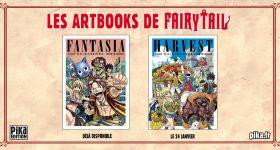 Nouvel Artbook Fairy Tail chez Pika