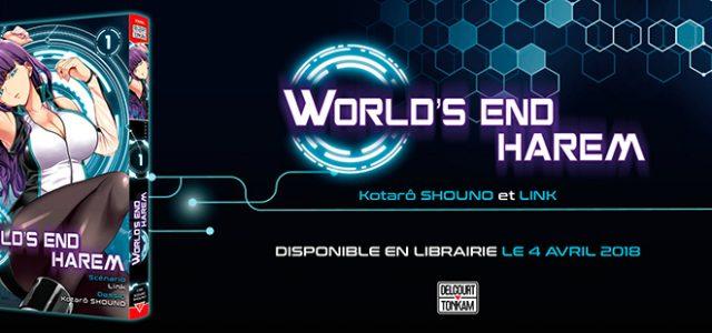World's end harem annoncé chez Delcourt /Tonkam