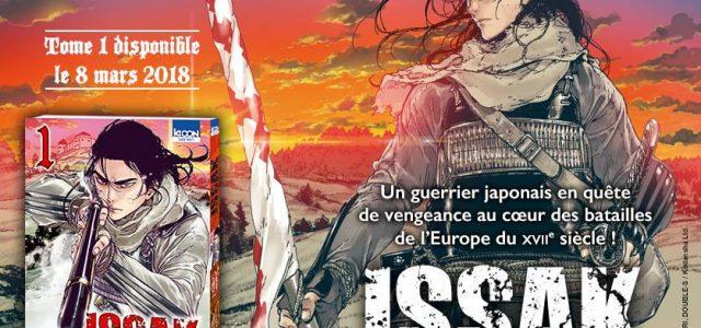 Issak, le nouveau manga historique de Ki-oon