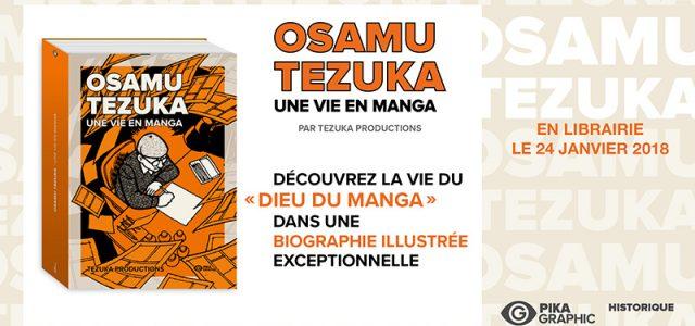 Une biographie d'Osamu Tezuka chez Pika