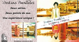 Les deux séries Destins Parallèles chez Komikku