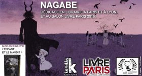 Nagabe au Salon Livre Paris 2018