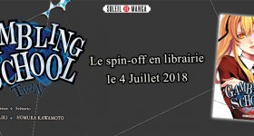 Un spin-off de Gambling School chez Soleil Manga