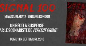 Signal 100 chez Delcourt/Tonkam
