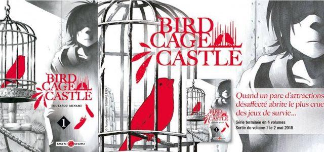 Le jeu Birdcage Castle se déploie chez Doki-Doki