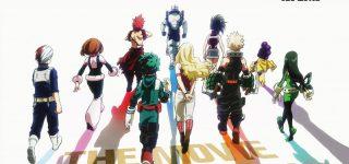 Le film animation My Hero Academia annoncé