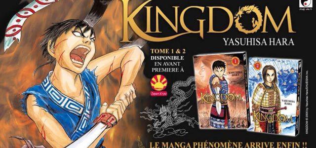 Le manga Kingdom débarque, enfin, en France