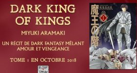 Dark King of Kings s'installe chez Delcourt/Tonkam