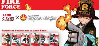 Atsushi Ohkubo invité Kana et Japan Expo