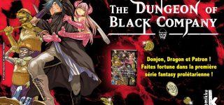 Dungeon Black Company s'installe chez Komikku