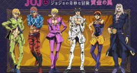 L'anime Jojo's Bizarre Adventure: Golden Wind annoncé
