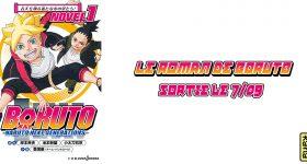 Le roman Boruto annoncé chez Kana