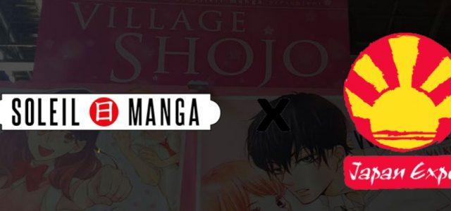 Soleil Manga présente ses goodies Japan Expo
